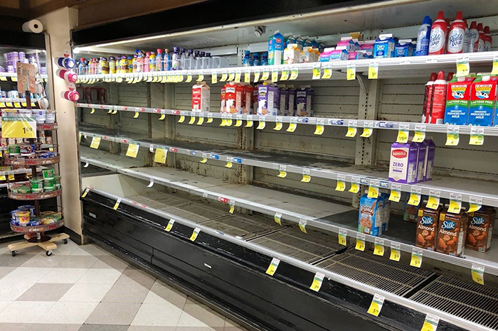 Milk Shortage